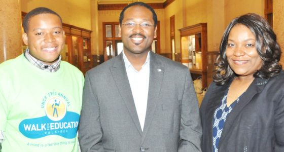 Milwaukee City Hall hosts UNCF 'Walk for Education' registration event