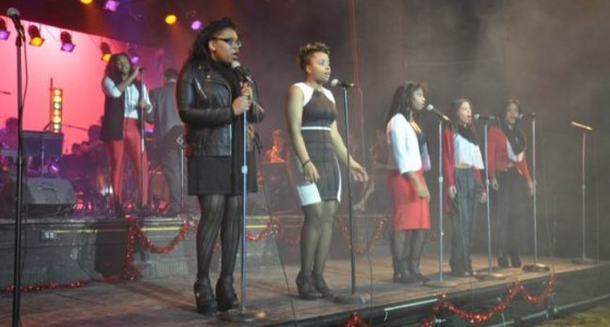 For Valentine's Day, MPS' Milwaukee  High School of the Arts presented popular soul show with Black History Month ties