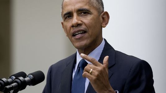 Obama expands his executive power beyond Earth