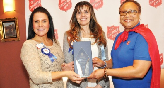 The Salvation Army recognizes volunteer heroes at annual luncheon