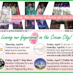 ALPHA KAPPA ALPHA SORORITY, INC.® 83RD CENTRAL REGIONAL CONFERENCE APRIL 6-9, 2017