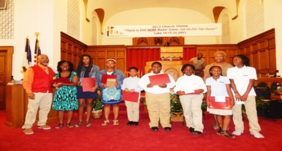 Community Baptist Church hosts writing contest for back-to-school