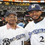 Play Ball! The Milwaukee Brewers  home opener features local baseball legend