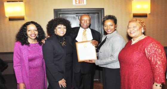 LaMarr Franklin honored with CBC James Howard Baker Award