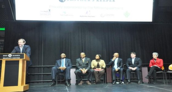 Mayor Barrett to announce mentoring initiative at My Brother's Keeper Mentoring Forum with MPS and Milwaukee Bucks