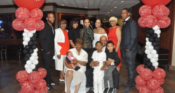 Local business leader Arthur Reid's 78th birthday celebration