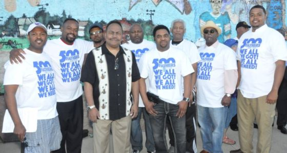 500 Fathers stand up against violence