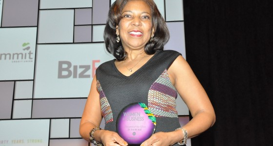 Dr. Eve Hall receives BizTimes' Woman Executive of the Year Award