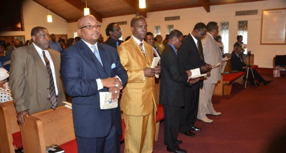 Shiloh Baptist Church Pastor Installation Service for Rev. Charles E. Holmes Sunday, July 19, 2014
