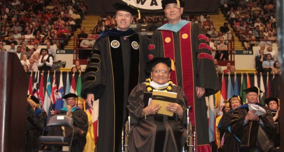 Local historian Irene Goggans receives honorary doctorate from UWM
