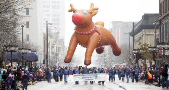 The 89th Annual Milwaukee Holiday Parade to be held Saturday, November 21, 2015