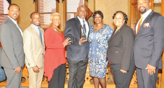 Andre Ellis named winner of the 2016 Frank P. Zeidler Public Service Award