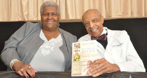 Dr. Lester Carter, Jr. talks natural health with Canaan Baptist Church
