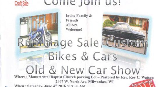 Car Show on Saturday