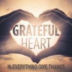 Week 4: A grateful heart