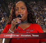 Top 5 Star Spangled Banner/National Anthem Military Theme – Lolitha Oliver Houston, Texas