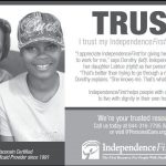 IndependenceFirst Caregivers Are Your Trusted Resource