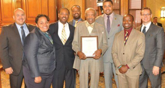Common Council recognizes Northside's Dr. Lester Carter