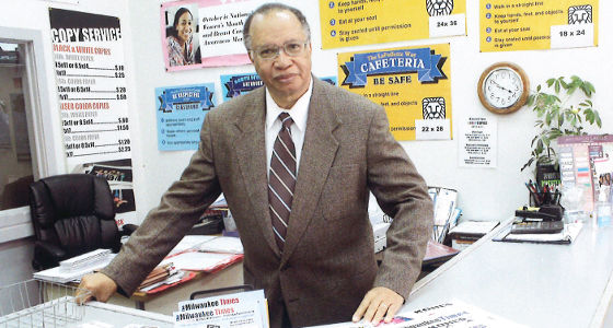 Milwaukee Times Founder Nathan Conyers passes away at 72