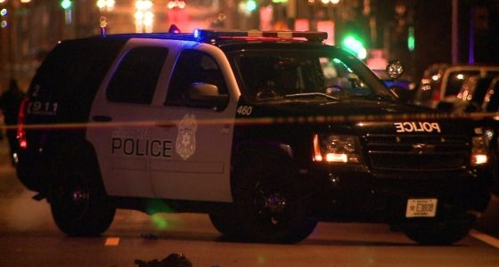 Driver runs red light near Fond du Lac and Center, slams into Milwaukee police squad