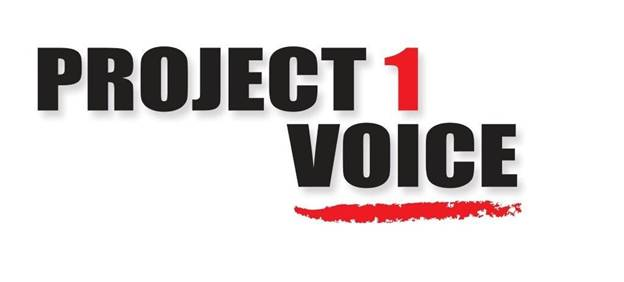 project one voice logo