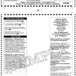 Notice of Spring Election and Sample Ballots